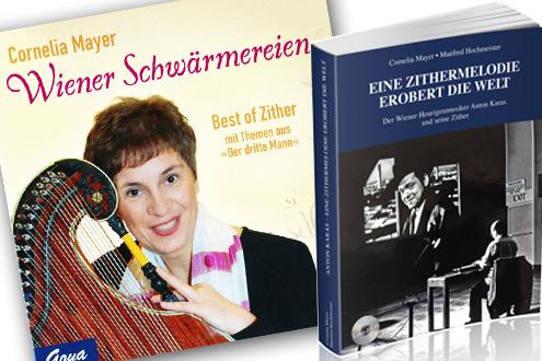 Cornelia Mayer Zitherspielerin in Wien - CD´s und mehr
