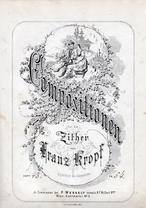 Cornelia Mayer Zitherspielerin in Wien - Franz Kropf Kompositionen und Transkriptionen